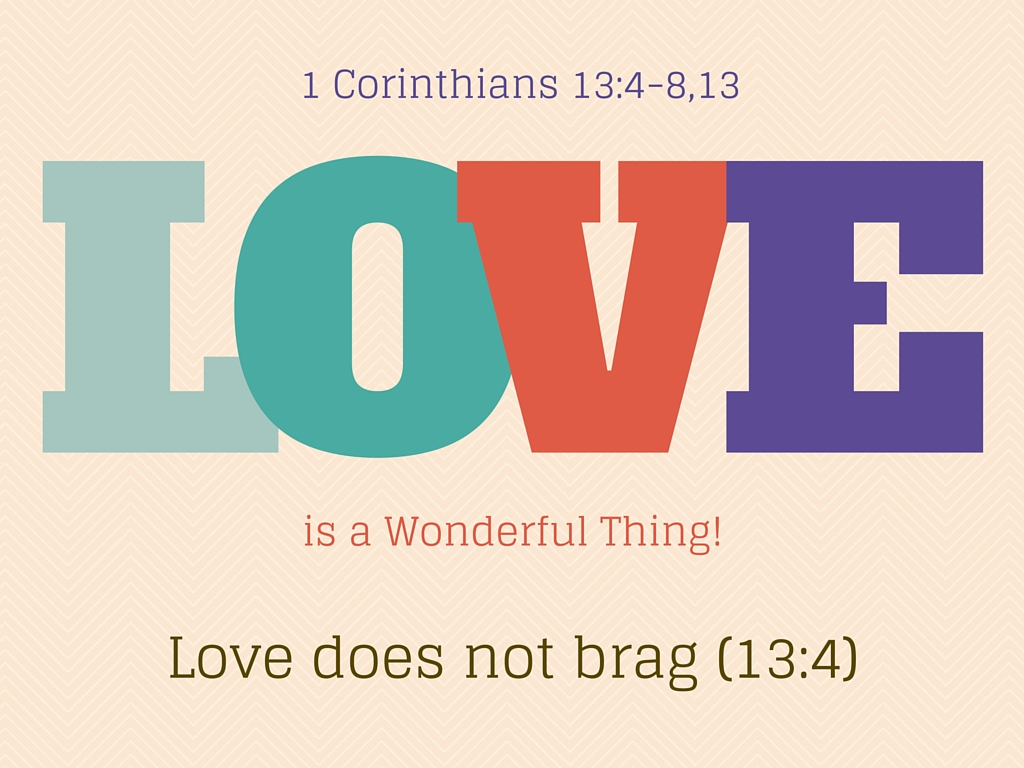 Love Is A Wonderful Thing - Brag